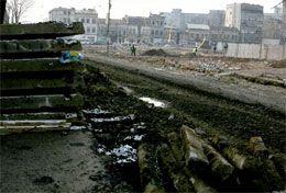 Lucrările la diametrala Buzești-Berzei au fost oprite. Foto: adevarul.ro.