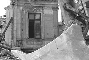 Demolare cladire de patrimoniu